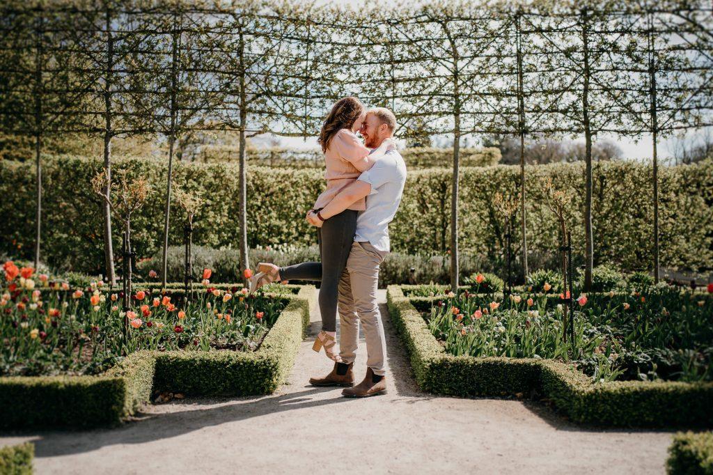 Alnwick Gardens Wedding Photographer 007
