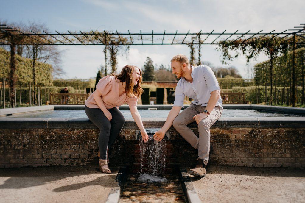 Alnwick Gardens Wedding Photographer 011
