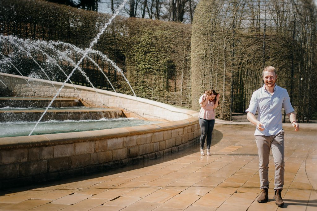 Alnwick Gardens Wedding Photographer 013