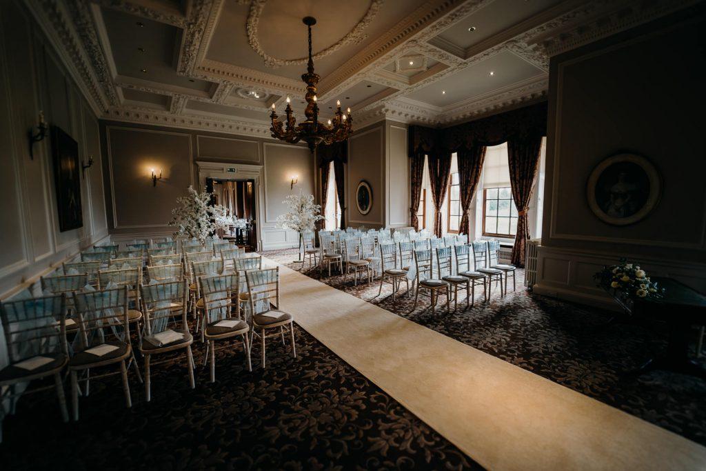 Crathorne Hall Yarm Wedding Photographer 1379