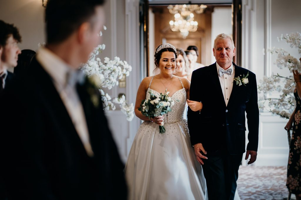 Crathorne Hall Yarm Wedding Photographer 1387