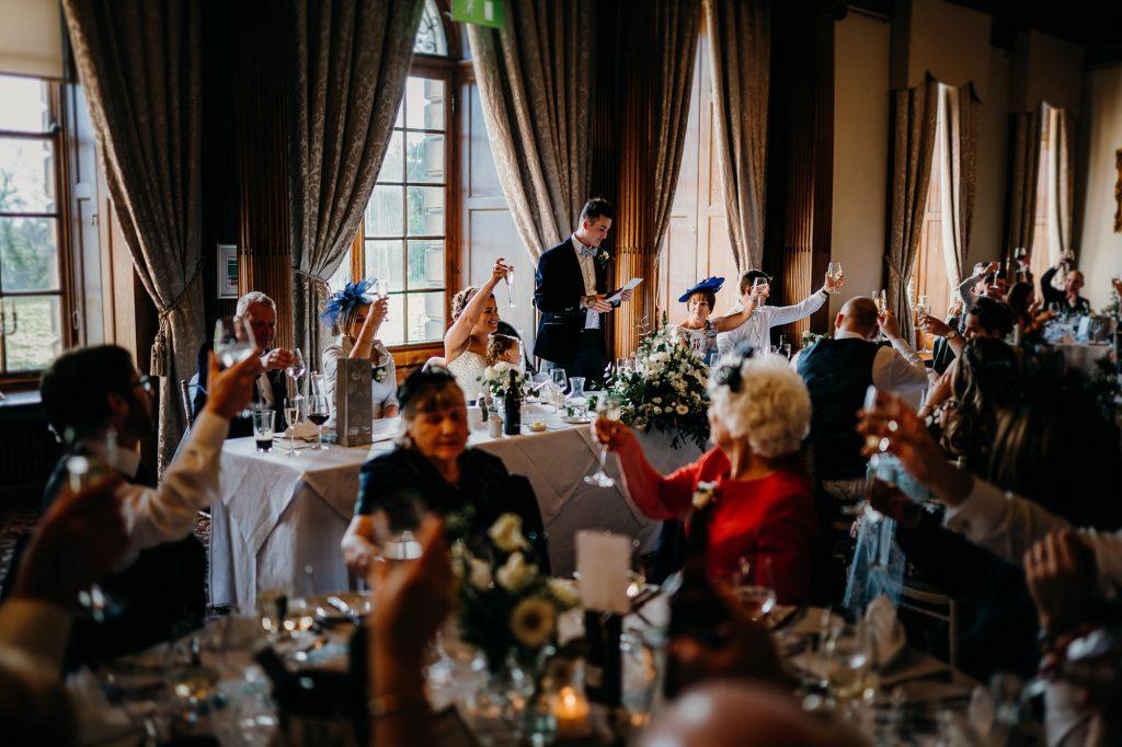 Crathorne Hall Yarm Wedding Photographer 1409