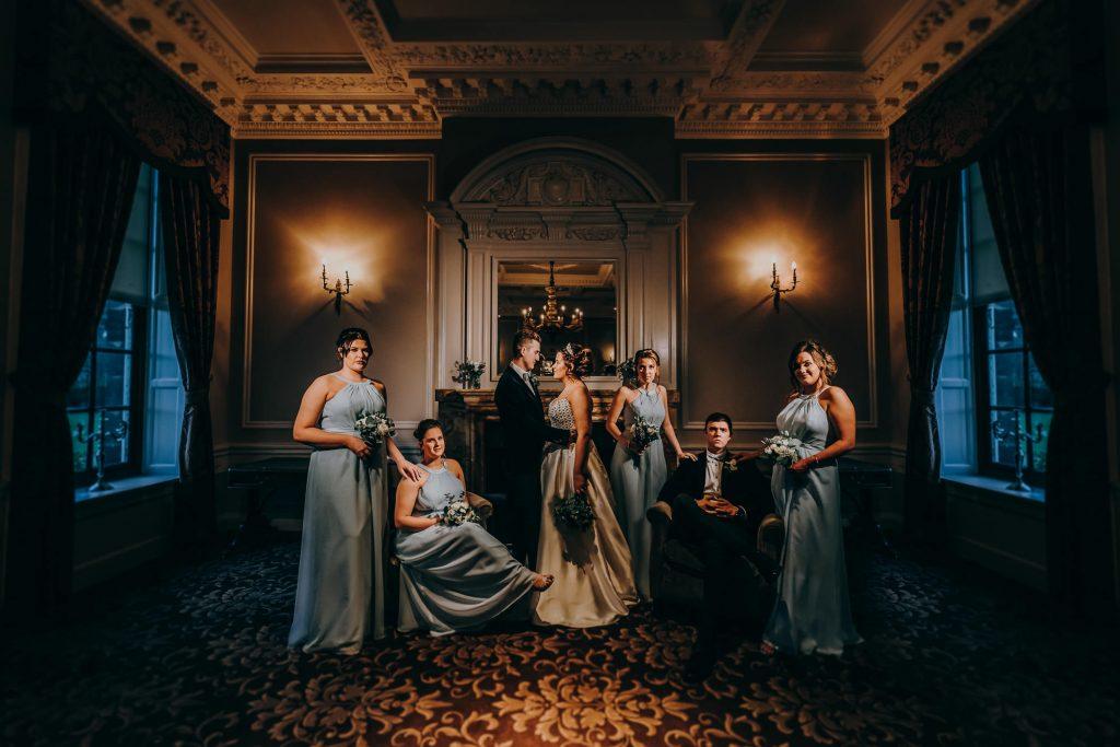 Crathorne Hall Yarm Wedding Photographer 1410