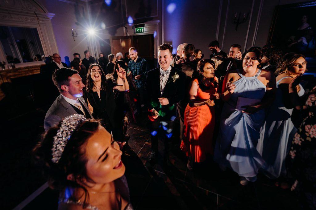 Crathorne Hall Yarm Wedding Photographer 1414