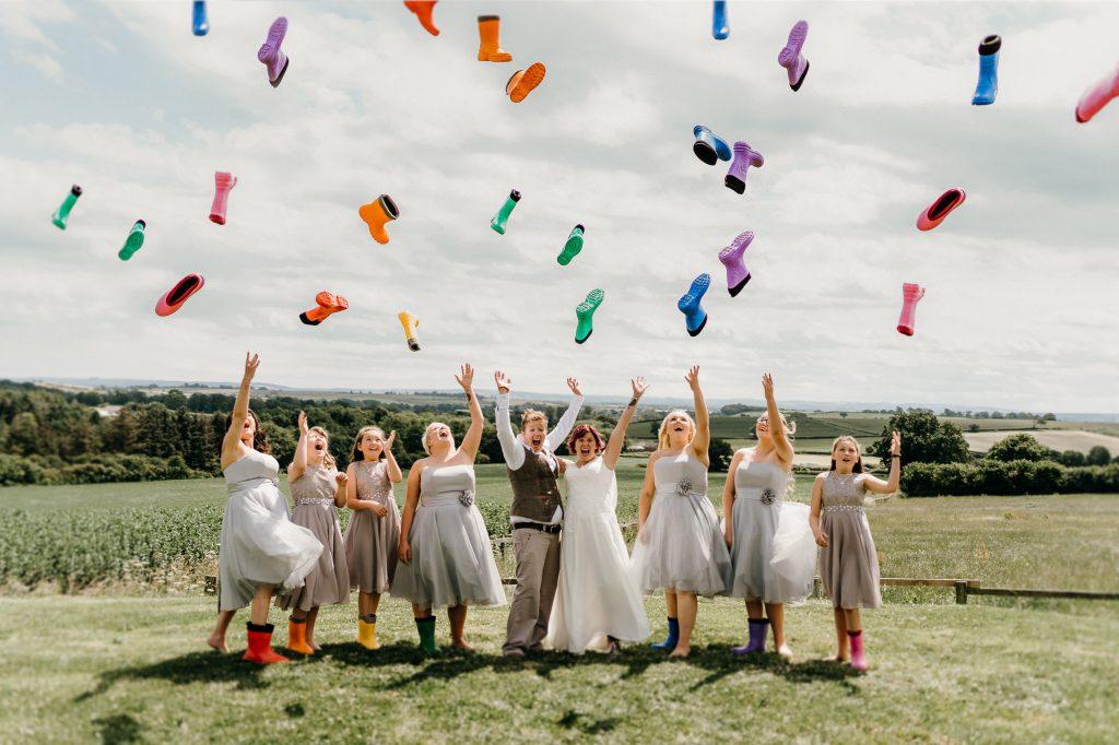 Deepdale Farm Wedding Photographer 189