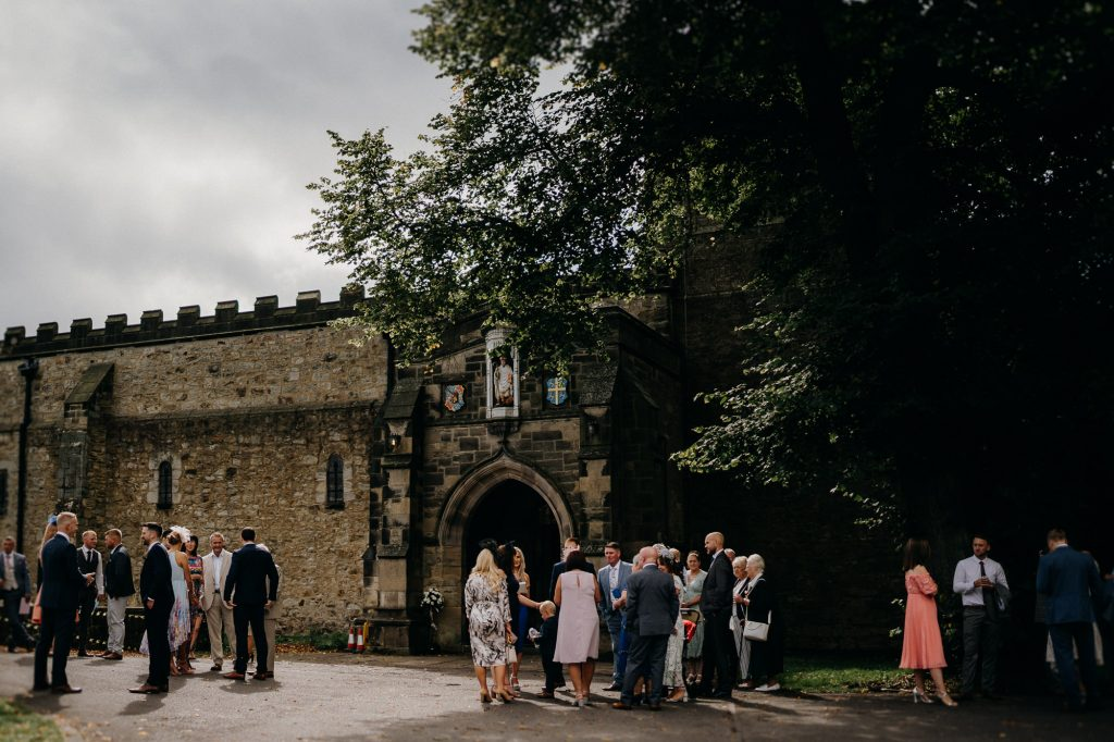 Durham Castle Wedding Photographer 526