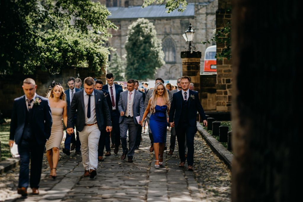 Durham Castle Wedding Photographer 536