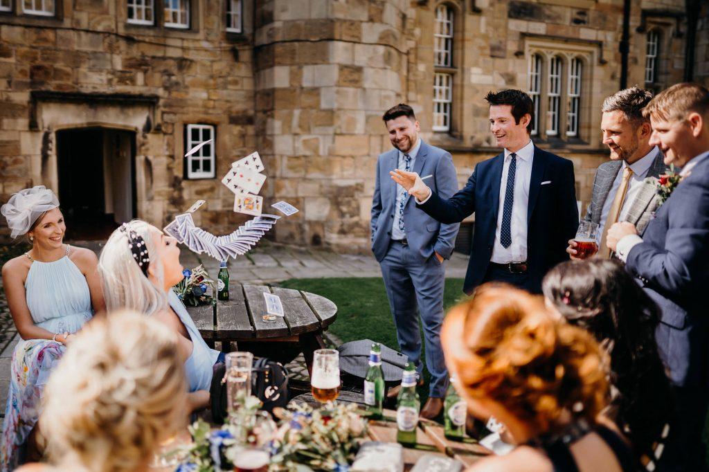 Durham Castle Wedding Photographer 546