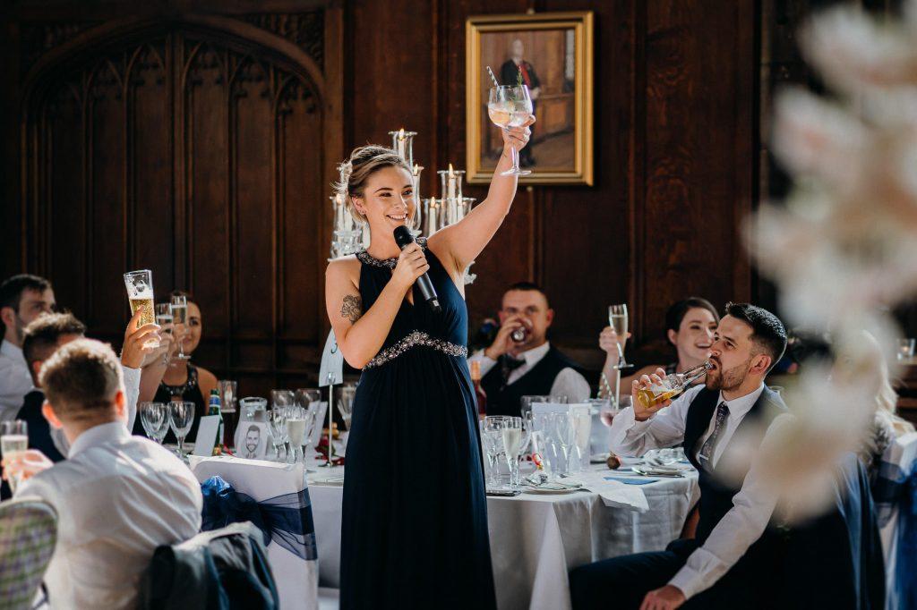 Durham Castle Wedding Photographer 549
