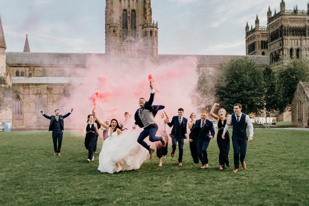 Durham Castle Wedding Photographer 552