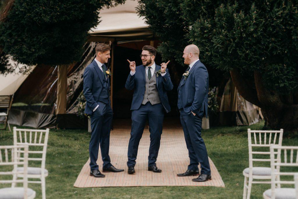Hallgarth Manor Covid Wedding Photographer 005