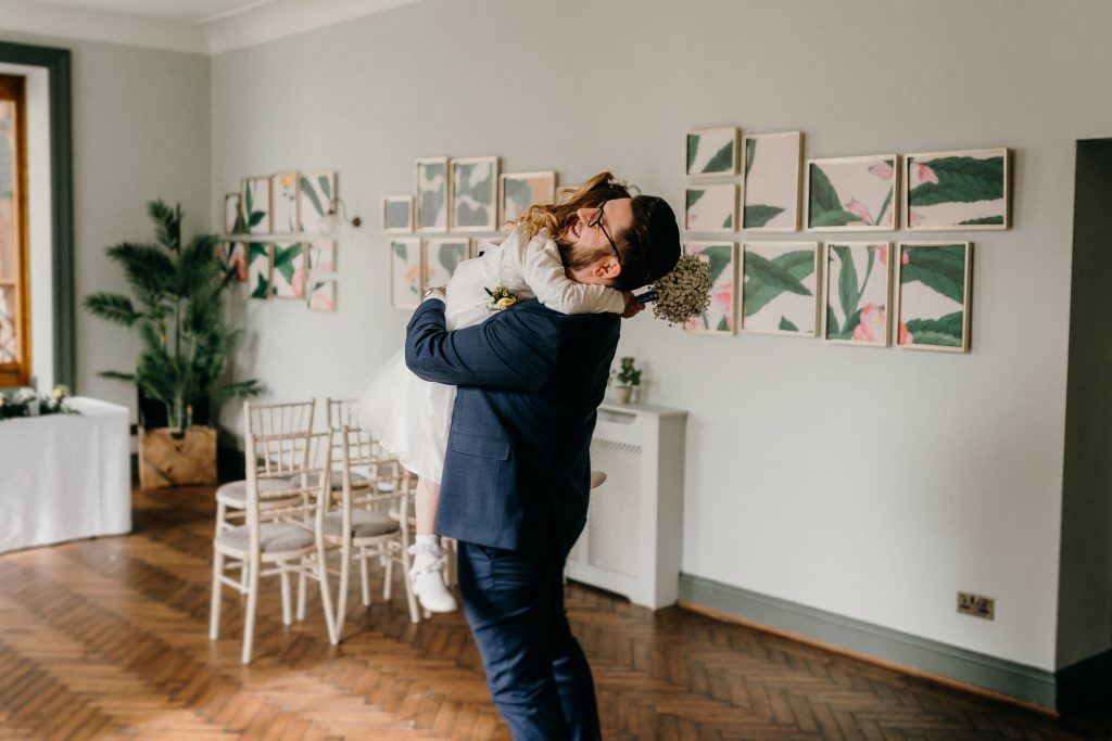 Hallgarth Manor Covid Wedding Photographer 006