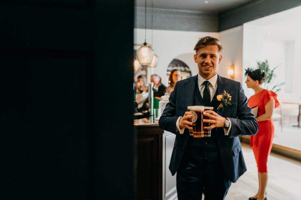 Hallgarth Manor Covid Wedding Photographer 007