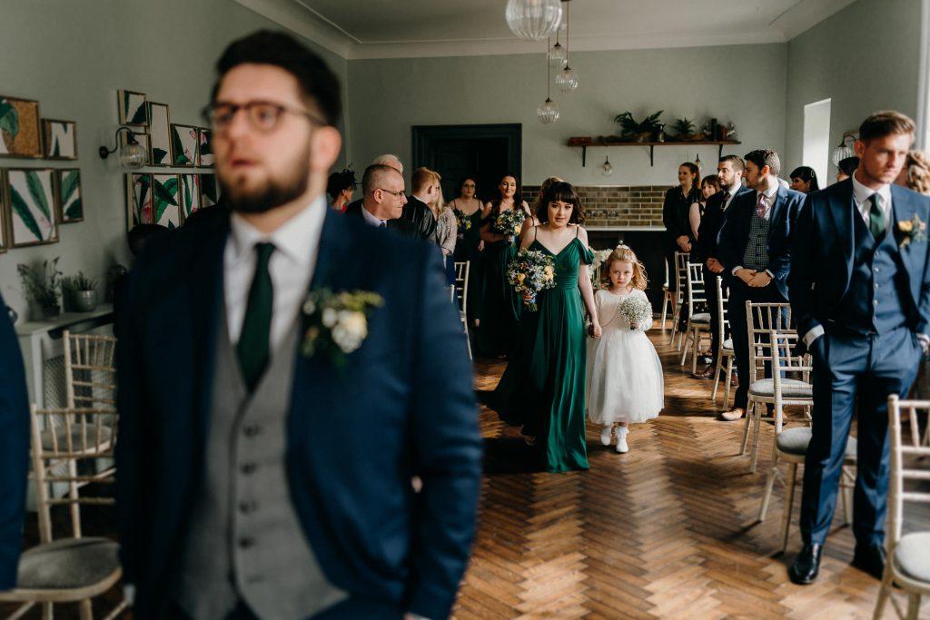 Hallgarth Manor Covid Wedding Photographer 012