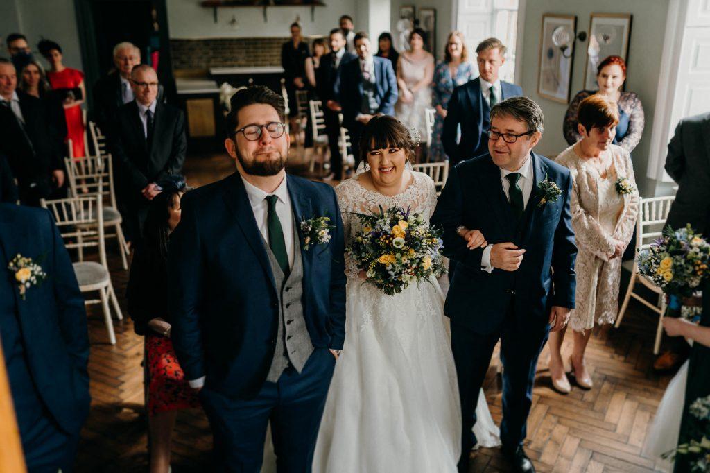 Hallgarth Manor Covid Wedding Photographer 013