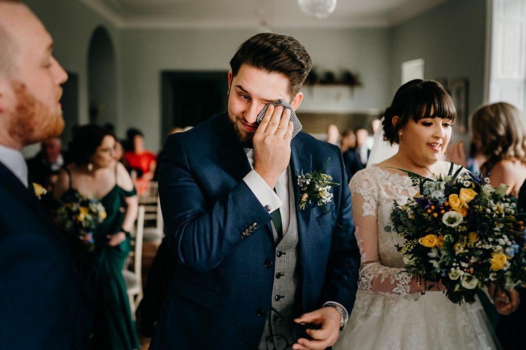 Hallgarth Manor Covid Wedding Photographer 014