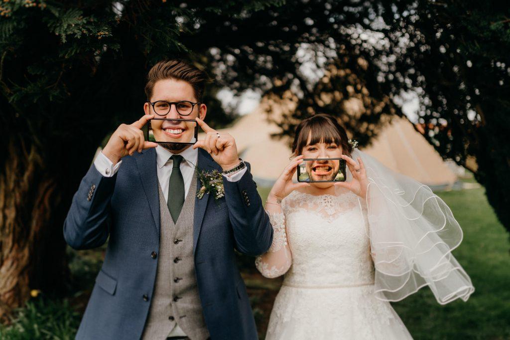 Hallgarth Manor Covid Wedding Photographer 025