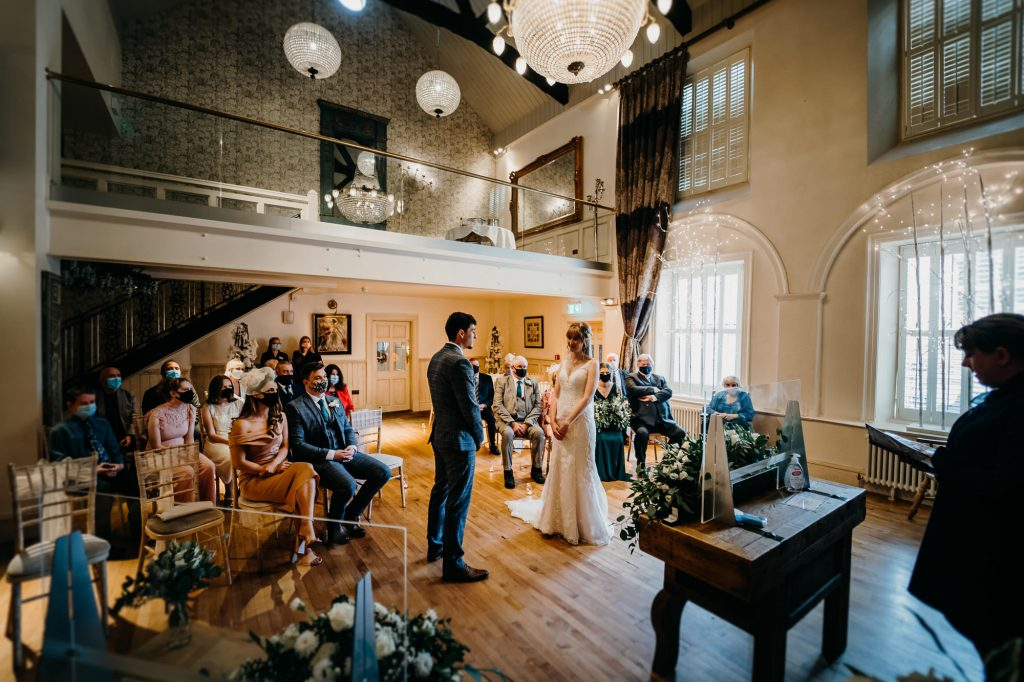 Hardwick Hall Covid Wedding Photographer 1714