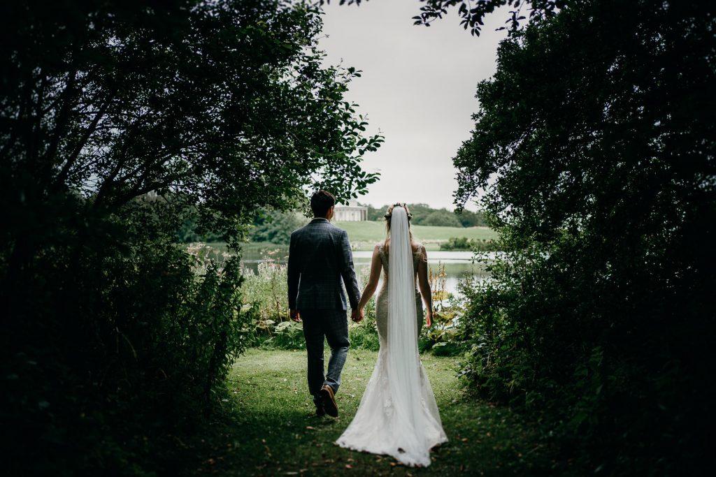 Hardwick Hall Covid Wedding Photographer 1734