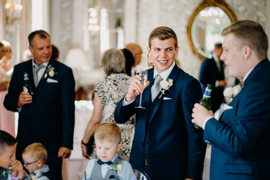 Lartington Hall Wedding Photographer 579