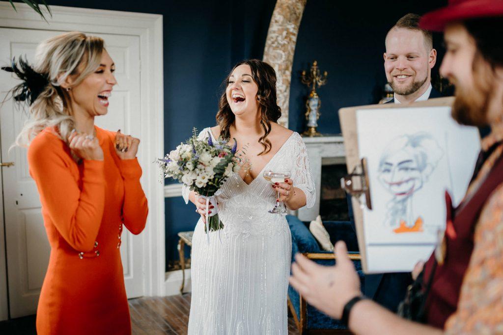 Newton Hall Wedding 015