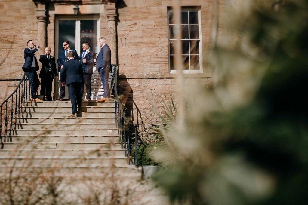 Newton Hall Wedding Photographer 011