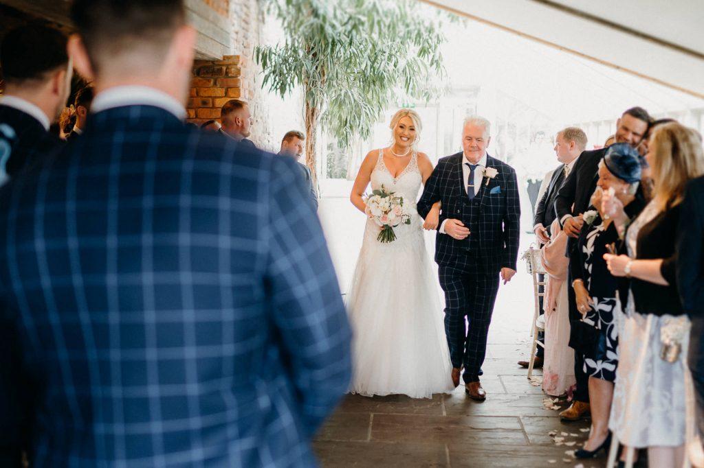 Newton Hall Wedding Photographer 015