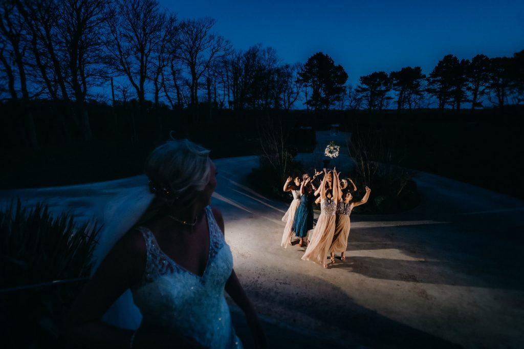 Newton Hall Wedding Photographer 025