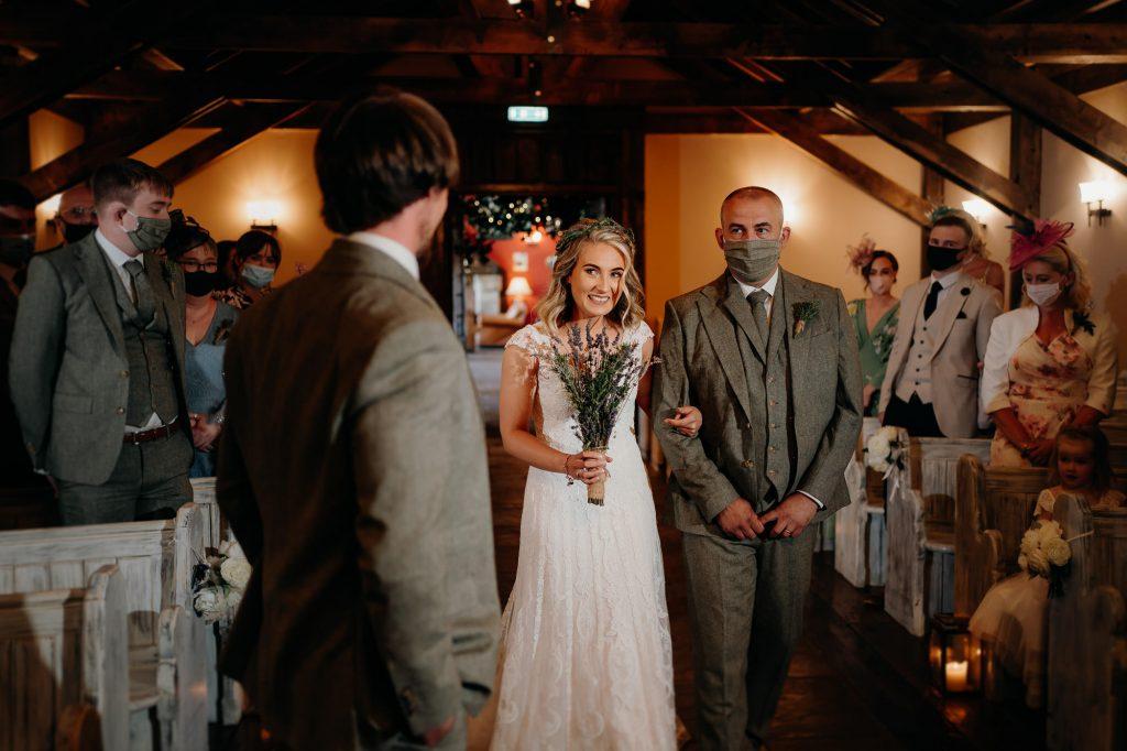 South Causey Inn Wedding Photographer 007 1
