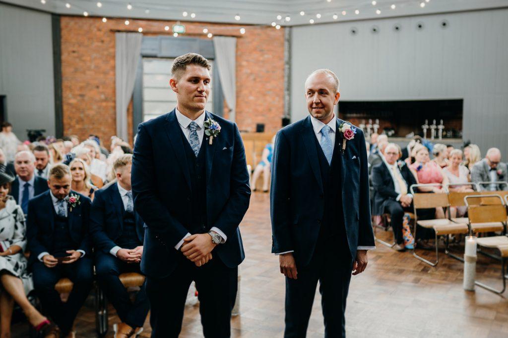 Wylam Brewery Wedding Photographer 617