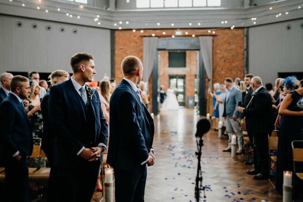 Wylam Brewery Wedding Photographer 622