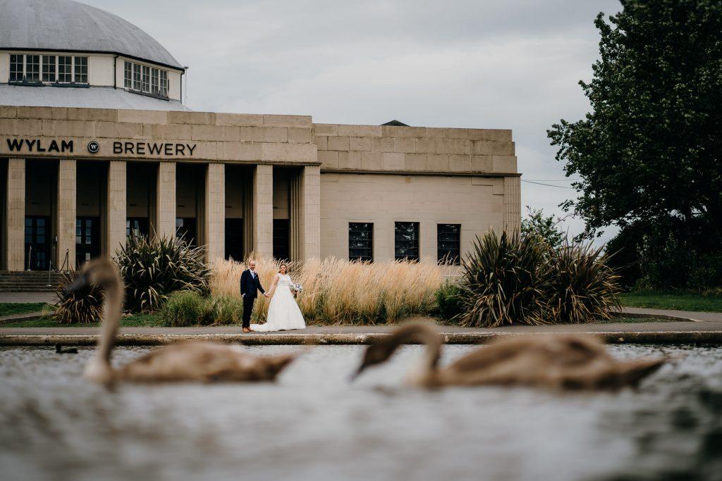 Wylam Brewery Wedding Photographer 636