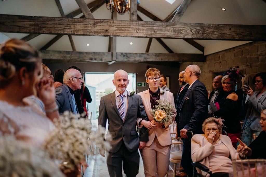 parlour at blagdon wedding 010