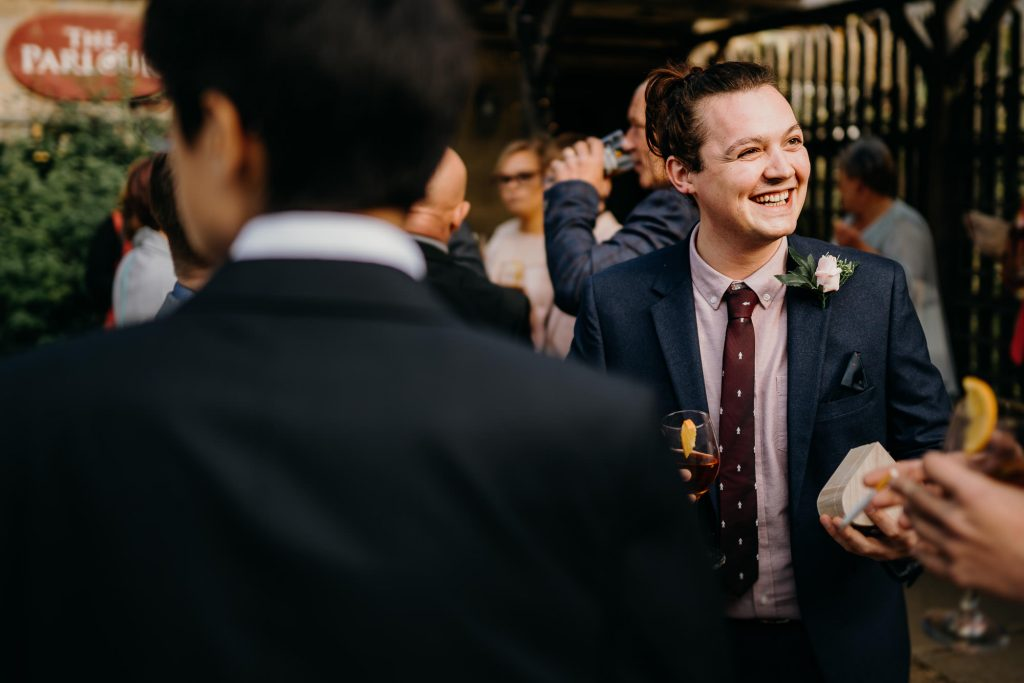 parlour at blagdon wedding 017