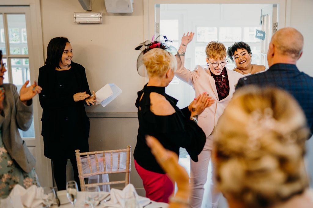 parlour at blagdon wedding 027