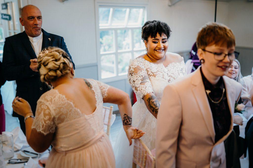 parlour at blagdon wedding 028