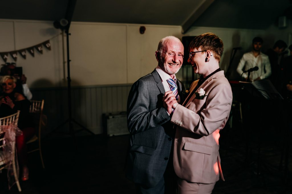 parlour at blagdon wedding 034