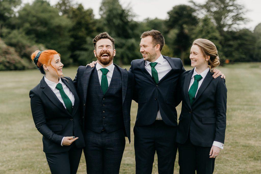 Beamish Hall Wedding Photographer 002