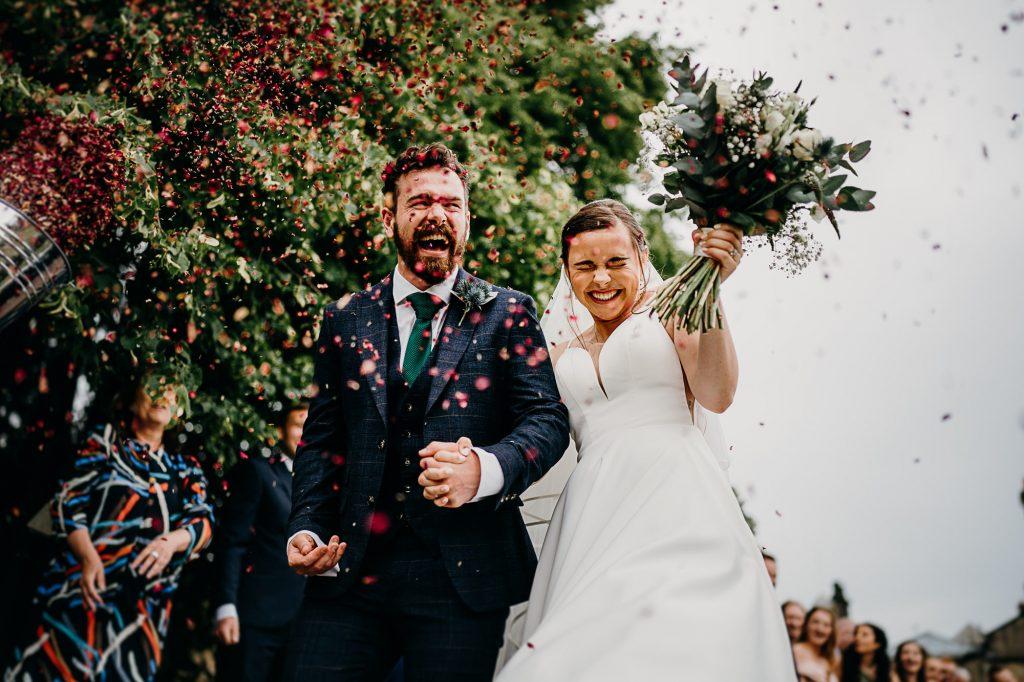 Beamish Hall Wedding Photographer 005
