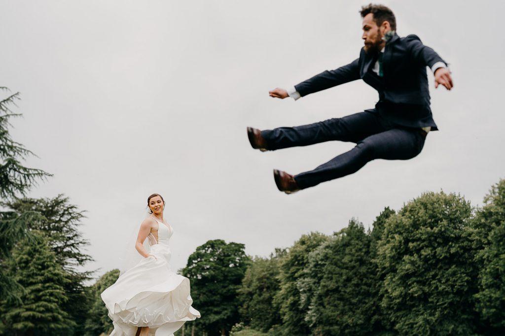 Beamish Hall Wedding Photographer 009