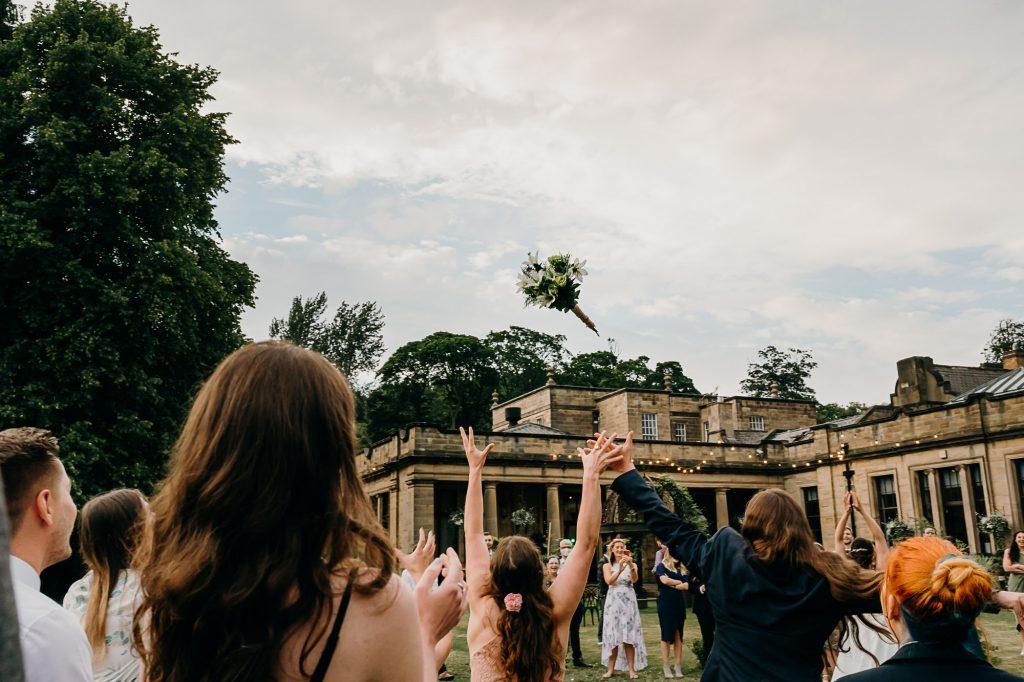 Beamish Hall Wedding Photographer 014